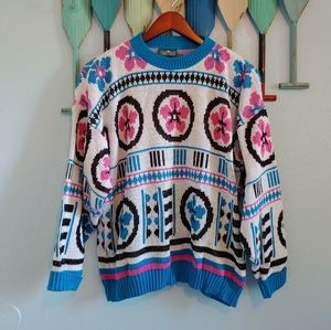 Vintage Cabin Creek Sweater XL EUC